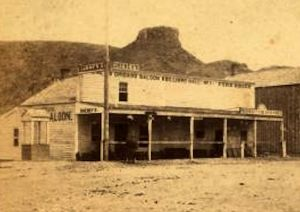 Cheney's Saloon - Golden City