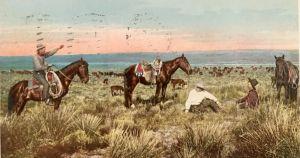 Cowboys at rest