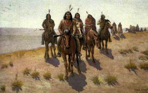 An Apache war party