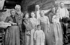 Settler families were often large and all generations were expected to help out in any way that they could