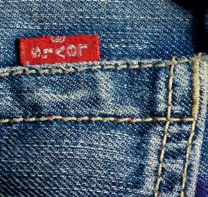 Levi Strauss and Wrangler dominate the working jeans market