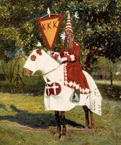 Regalia of the Grand Cyclops of the Ku Klux Klan