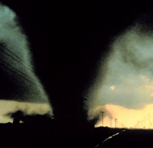 Since 1950, Texas has seen six tornadoes with wind speeds of between 261 and 318 mph