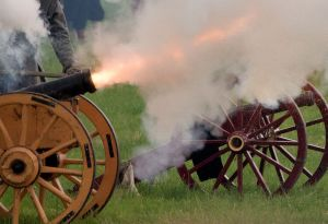 Over 600,000 soldiers were killed in the Civil War - the flash of a cannon was the last thing many would have seen