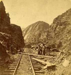 Building railroads was the fate of many camels